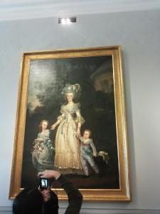 Marija Antuanetė su vaikais