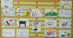 """Vaikų piešinių paroda """"Mano augintinis"""""""