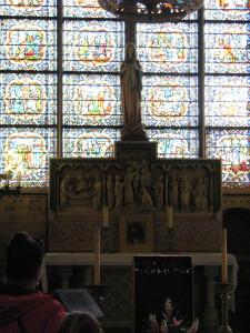 Viena iš koplyčių katedroje