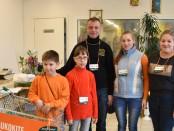 Šeimos pagalbos centro Lašelis savanoriai
