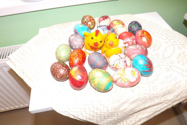 Kiaušiniai marginti įvairiais būdais