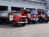 gaisrinės mašinos