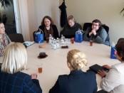 Spaudos atstovų susitikimas su valdžios atstovais