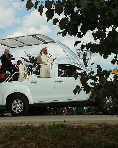 Popieziaus pasisveikinimas su jaunimu