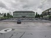 Aikštės fotomontažas pagal Savivaldybės projektinį pasiūlymą