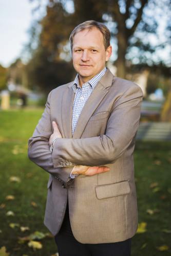 Parapijos globos namų direktorius Sigitas Kirtiklis