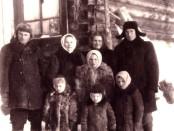 Tunguste prie savo namo 1952 m.