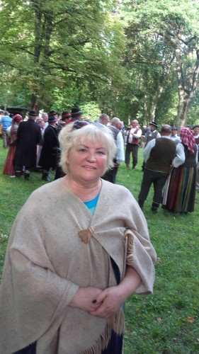 Šventės vedančioji Vilija Kaščionienė