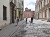 Akmeninės Rygos gatvės