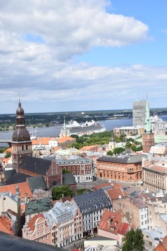 Vaizdas iš Šv. Petro bažnyčios bokšto