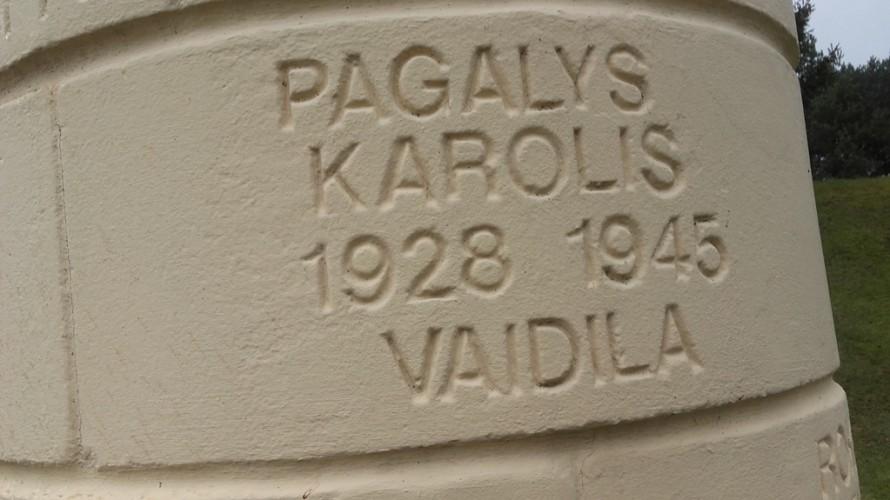 Kolonoje surašytų partizanų pavardės