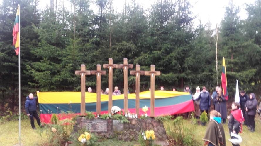Miegučių savanorių kapai