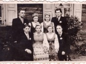 Poros vestuvėse, apie 1958-uosius