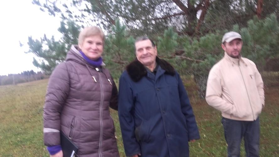 Sąjungos pirmininkė Aldona Kalesnikienė ir Petras Gambickas