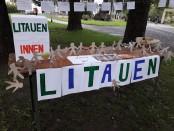 Lietuvos pristatymo kampelis Innsbruck parke