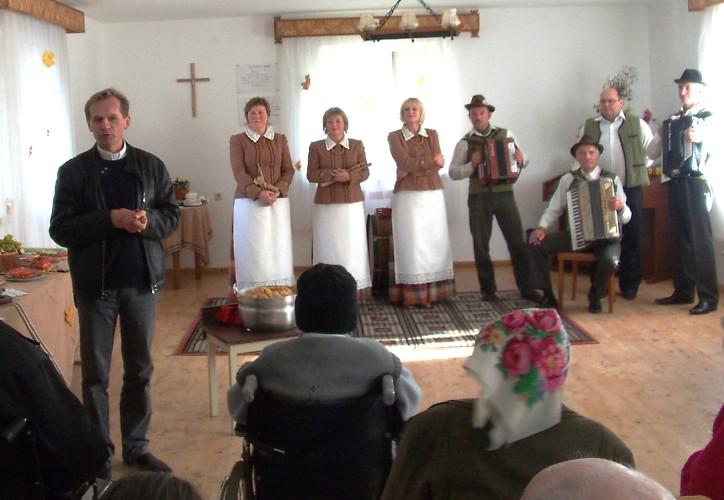 Susitikimas su parapijiečiais Širvintose