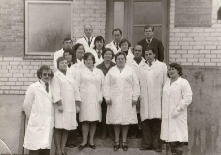 Veterinarinės stoties kolektyvas