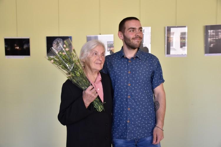 1 Simas su močiute Janina