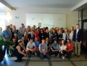 Mūsų delegacija Estijos švietimo ministerijoje