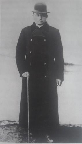Kunigas Juozapas Kancleris 1912 m.