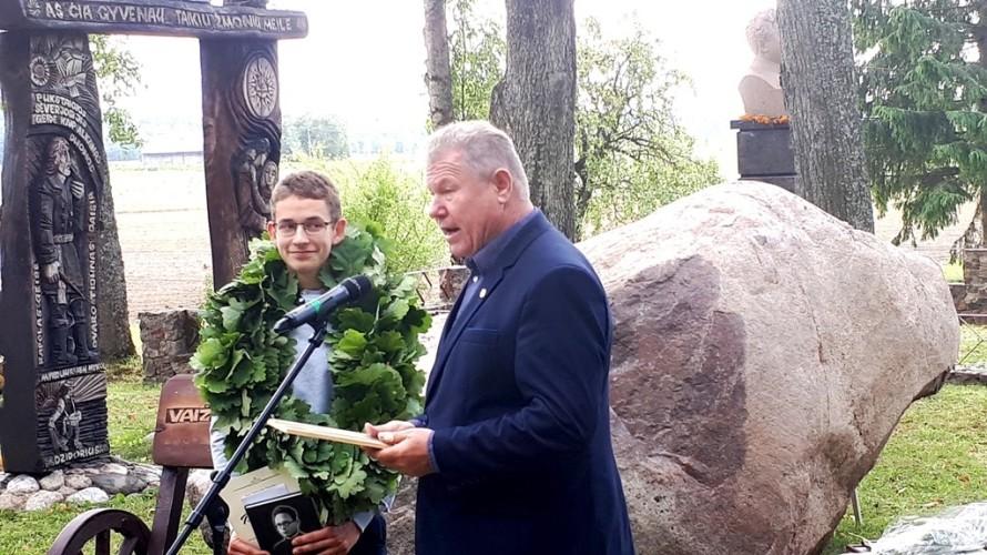 Jaunasis Lauriatas Martynas Jakutis