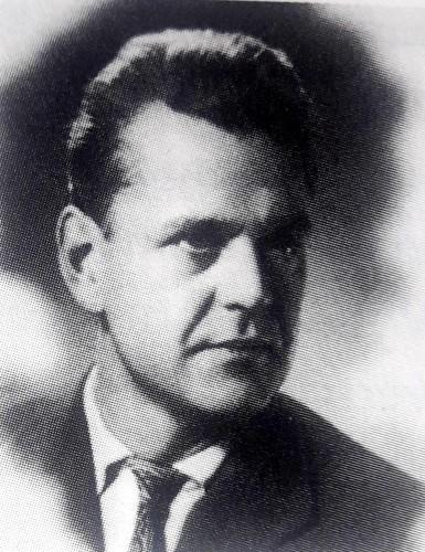 Vytautas Kancleris apie 1950 m. Klaipėda