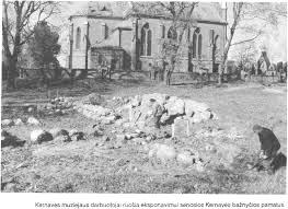 Vytauto Didžiojo statytos bažnyčios archeologiniai tyrinėjimai Kernavėje