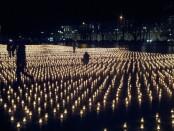 Žvakutės - žuvusiems keliuose
