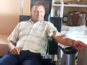 Marijonas Striška naujokas donoras. V. Patinskienės nuotrauka