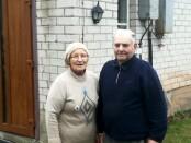 Sodybos šeimininkai Elena Romutė ir Enrikas Lisauskai