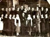Širvintų bažnyčios choras apie 1938 m.