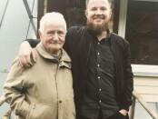 Mantas su seneliu Vincu (asmeninis archyvas)