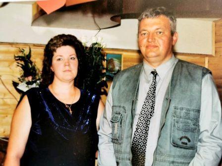 Rūta su vyru Algiu