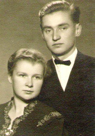Genovaitė ir Vytautas Kriaučiūnai