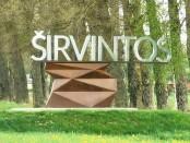 Naujasis miesto riboženklis. Nuotrauka www.sirvis.lt