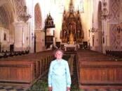 Cecilija po daugelio metų Punsko (Lenkija) bažnyčioje