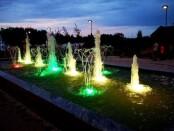 Spalvingasis fontanas. Nuotrauka iš www.sirvintos.lt