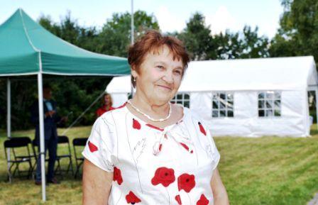 Festivalio iniciatorė ir organizatorė Stefanija Tamošiūnienė