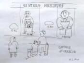 Raimondos Šalaševičiaus karikatūra
