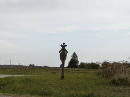 Koplytstulpis Motiejūnų kaime