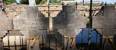 Savanorių kapai Širvintose