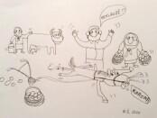 R. Šalaševičiaus karikatūra