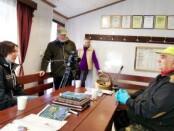 """L. B. Vošterio interviu apie linus, jų auginimo ypatumus bei sveikatinimo savybes Lietuvos Ryto TV """"Kaimo akademijos"""" laidoje.                                        Šaltinis: L. B. Vošterio feisbuko paskyra"""