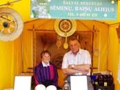 Ūkininkai Janina ir Bronislovas Liubomiras Vošteriai visada kartu ir puikios nuotaikos  L. B. Vošterio feisbuko paskyra