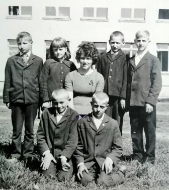 Irina Semaško su mokiniais