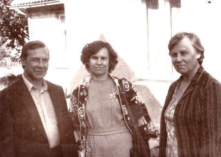 Svečiai iš Volžsko: Margaritos (pirma iš dešinės) sesuo su vyru