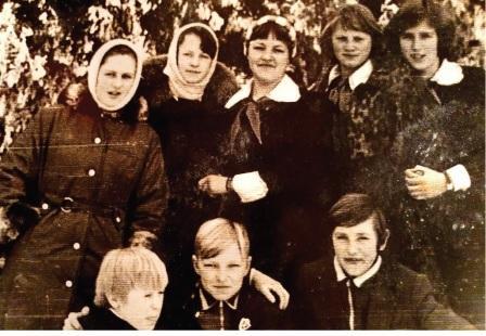 Su bendraklasiais 1978 m.